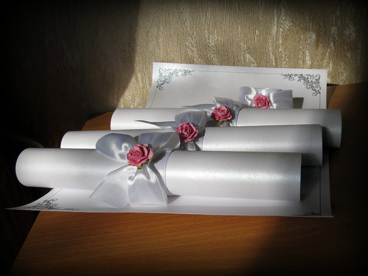 Приглашение на свадьбу в виде свитка шаблоны, деда