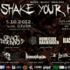 5.10.2012. metal music festival SHAKE YOUR HEAD