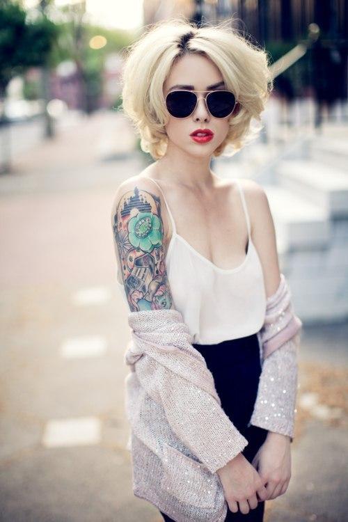 Фото блондинок красивых зимой