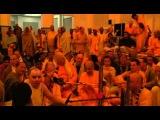Aindra Prabhu & Radhanath Swami - Hare Krishna Kirtan - ISKCON Mayapur - Feb 15, 2007