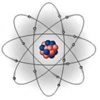 Предполагающая, что электроны движутся вокруг атомного ядра подобно планетам, обращающимся вокруг звезды...