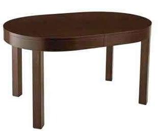 Круглый и овальный стол в интерьере кухни (6 фото)