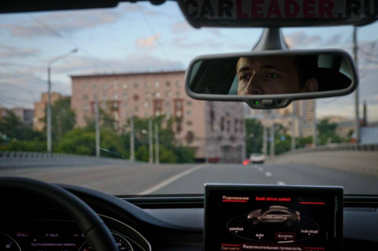 Audi A7 navi