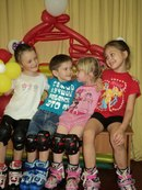 Фото дети на роликах