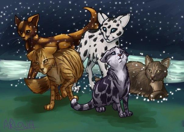 Коты воители стихи про