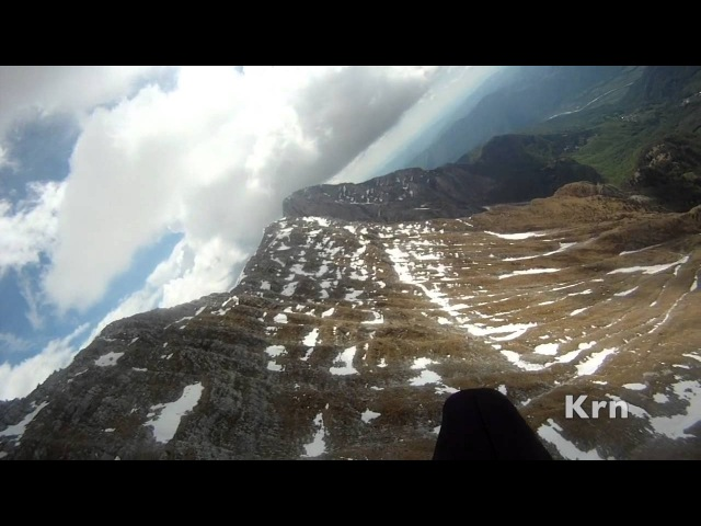 Julian Alps Paragliding - Gemona to Kobala and back
