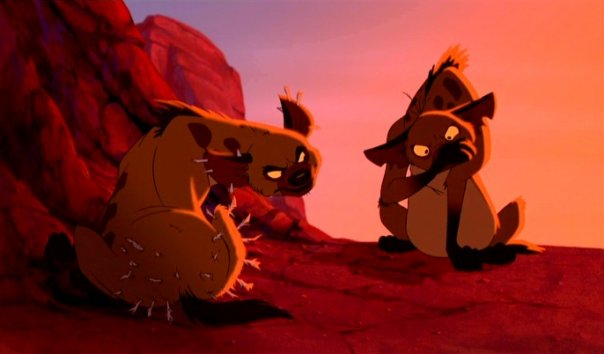 Hyena lion king