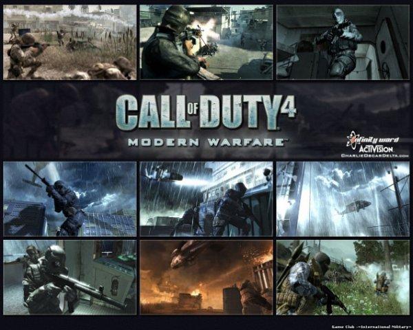 Компания Infinity Ward официально сообщила, что ее проект Call of Duty 4: M