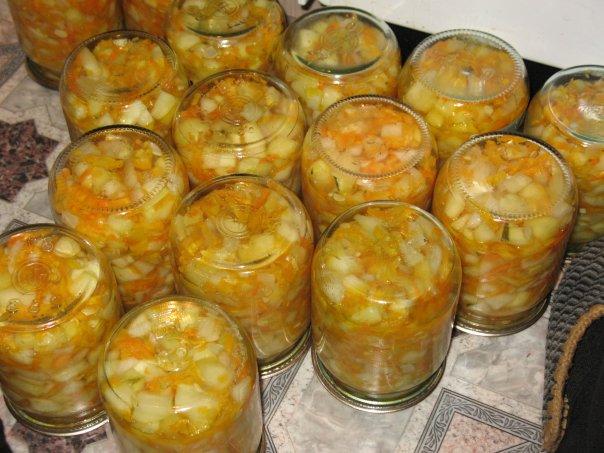 кабачки соломкой зиму рецепт фото
