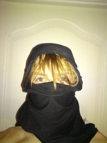 Как сделать маски из майки 801