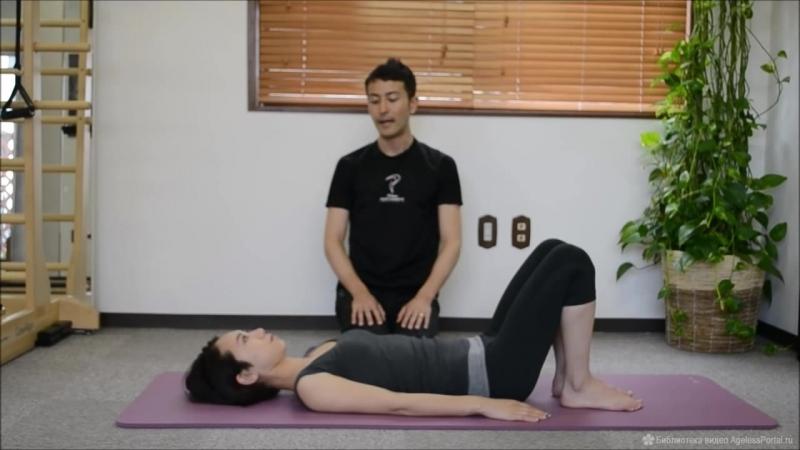 Упражнение Кивок лежа против двойного подбородка