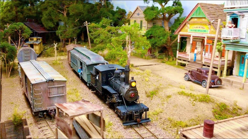 One Of The Finest and Most Detailed Model Railroad Layouts in HO Scale 4K UHD