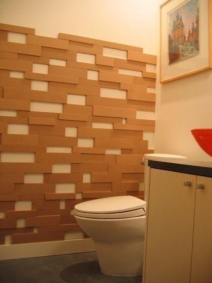 Декор стены с 3D-эффектом своими руками (3 фото) - картинка