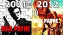 Evolution Of Rockstar's MAX PAYNE theme Song 2001 2012