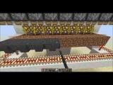 Minecraft 1.5.2 автоматическая ферма по выращиванию и сбору арбузов и тыкв