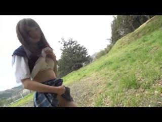 Atomi shuri  -топporn 18+-  японское порно new japan porno creampie, solowork, girl, outdoors, training, shaved, school uniform]