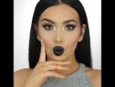 Идея макияжа с темными губками