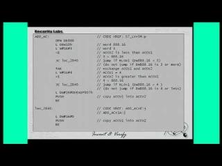 27c3: Building Custom Disassemblers (en)