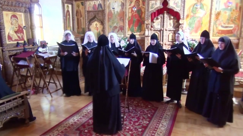 Сестры Свято-Елисаветинского монастыря - Даруй, Боже, Благодать.