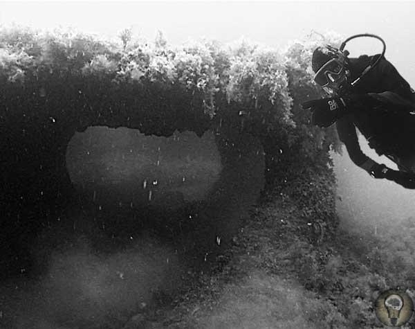 Мегалиты на дне Черного моря