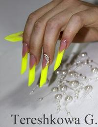 Челябинск наращивание ногтей