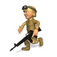 Гифы солдаты