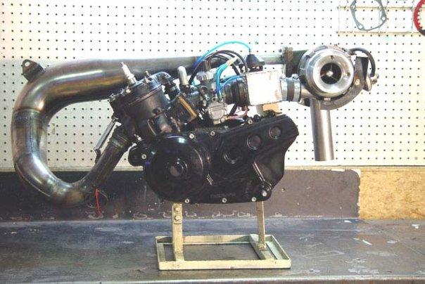 Резонатор для двухтактного двигателя 196