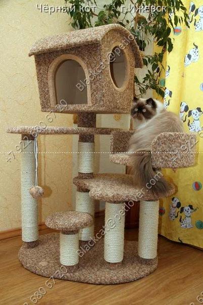 Когтеточки для кошек, игровые комплексы ВКонтакте