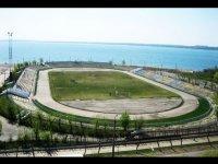 стадион восход челябинск сколько метров
