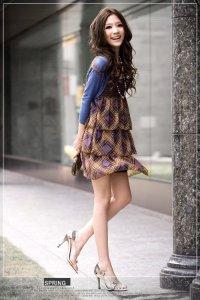 Стильная женская одежда платья