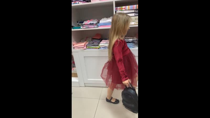 Закулисье примеряем платье от Timi boutique