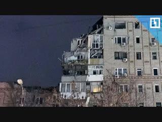 Взрыв газа в многоэтажке в Ростовской области