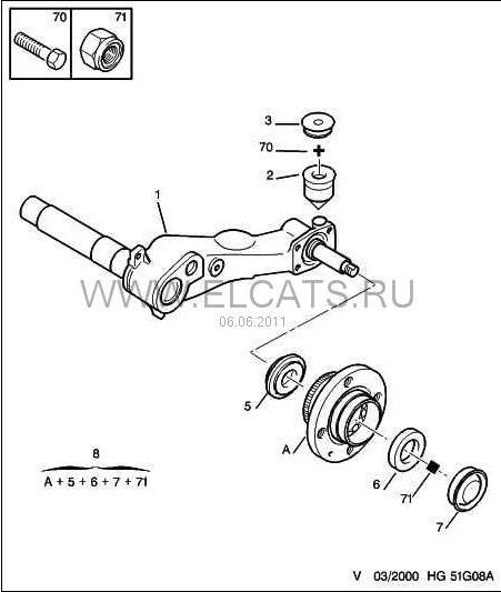 Схема балки лифан бриз