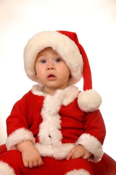 Новогодний костюм на малыша своими руками