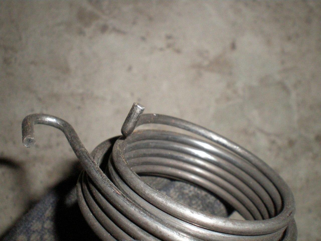 Как натянуть пружину кик стартера? Есть ответ.