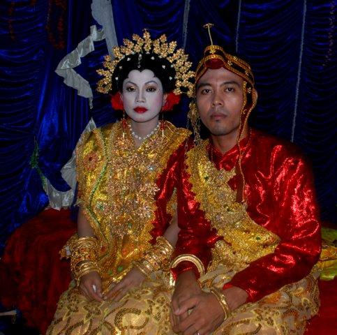 Свадебная церемония, остров Сулавеси