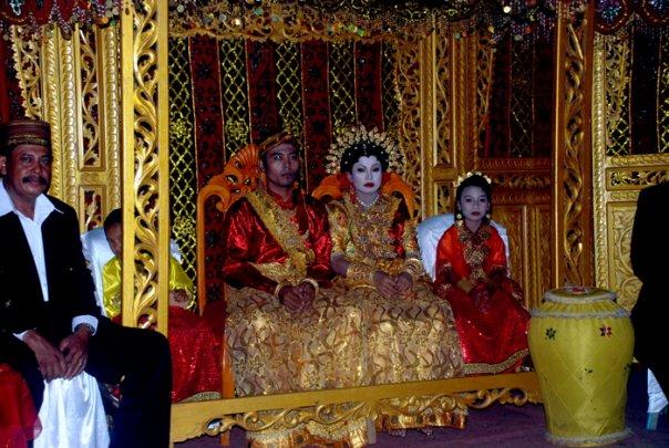 Индонезия - свадебная церемония