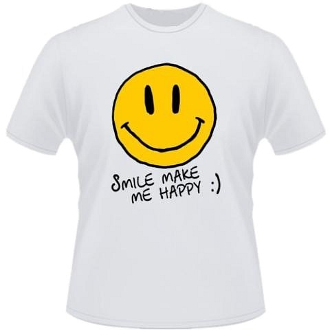 Это интересный, забавный и. Футболка Smile.  Купить майку онлайн.