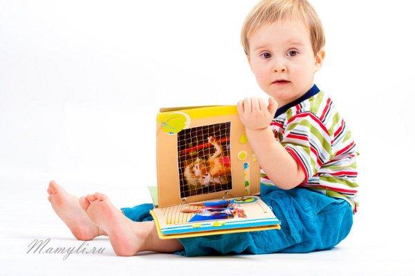 Альбом для детских фотографий своими руками