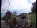 Разборка на дороге в США