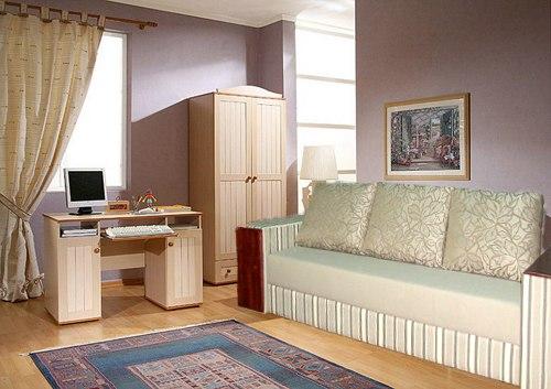 Этот модельный ряд мебели, создавался как детская мебель, которой впоследствии будут пользоваться только девочки
