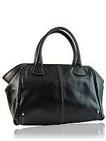 Качественная кожаная женская сумка.