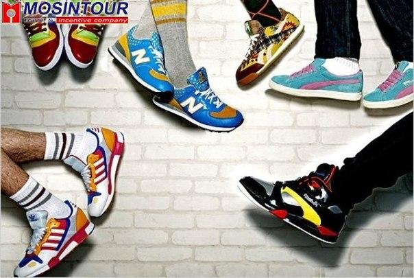 Молодежная стильная обувь
