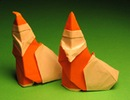 новогодние поделки оригами двухсторонний лебедь. цветы оригами схемы.