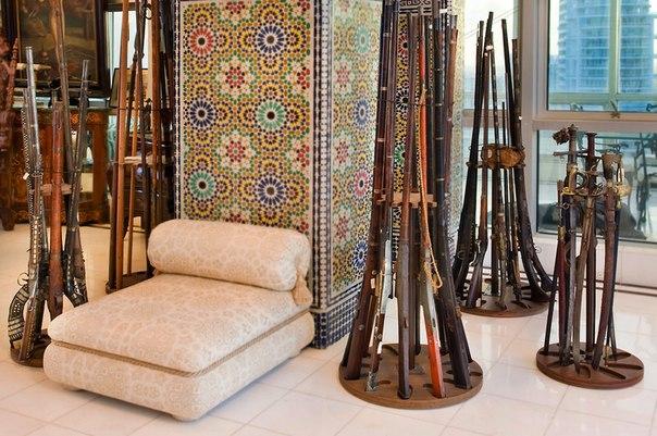 Диванная зона в арабском стиле