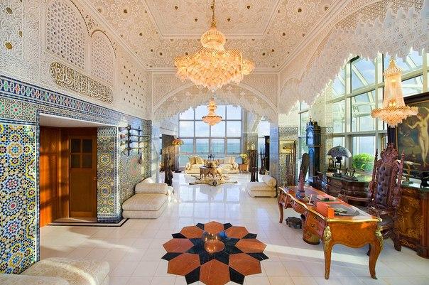 Гостинная в арабском стиле