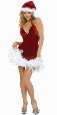 Новогодний костюм снегурочки (красивый)