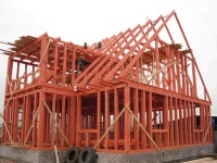 Канадская разработка постройки домов из деревянных стройматериалов.