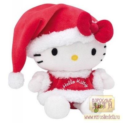 Мягконабивная игрушка серии Hello Kitty (Хеллоу Китти) Санта Клаус...