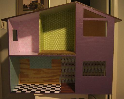 Кукольный дом из фанеры своими руками